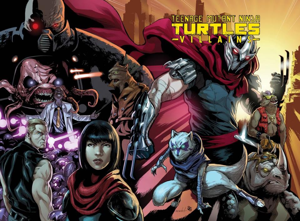 Teenage Mutant Ninja Turtles: Villains
