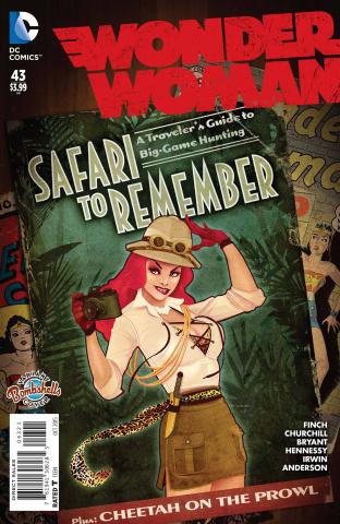 Wonder Woman #43 (Bombshells Cover)