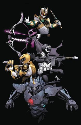 Power Rangers: Ranger Slayer #1 (Convention Cover)