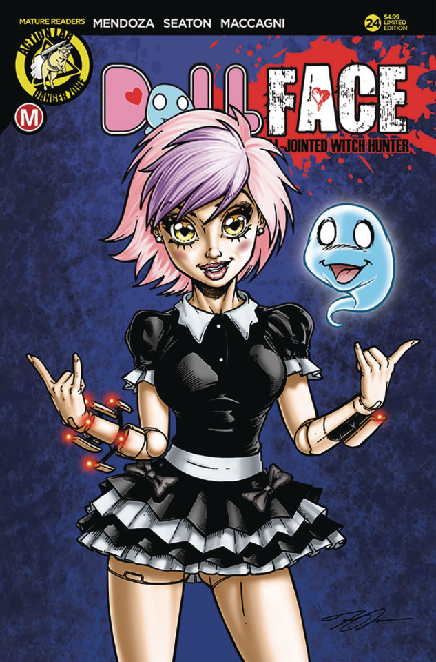 Dollface #24 (Maccagni Pin Up Cover)