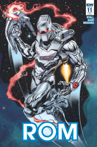 ROM #11 (10 Copy Cover)