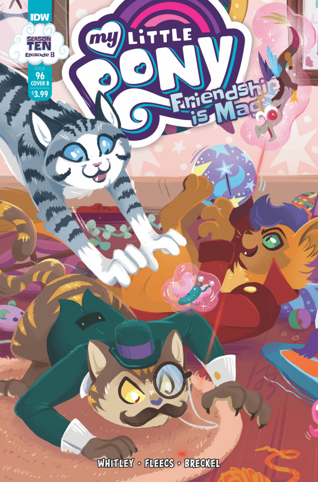 My Little Pony: Friendship Is Magic #96 (Justasuta Cover)