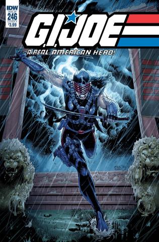 G.I. Joe: A Real American Hero #246 (Diaz Cover)