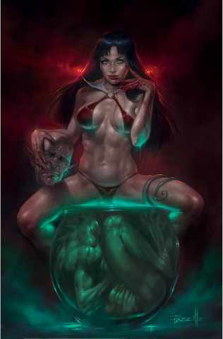 Vampirella #23 (Parrillo Virgin Cover)