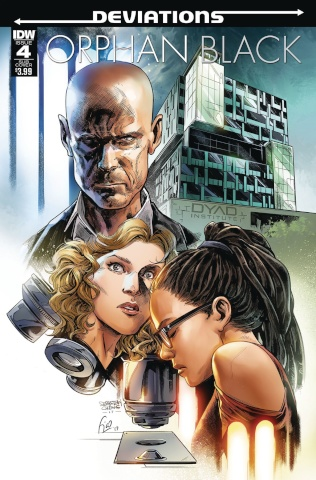 Orphan Black: Deviations #4 (Subscription Cover)