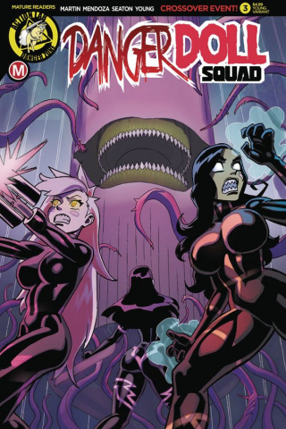 Danger Doll Squad #3 (Winston Young Cover)