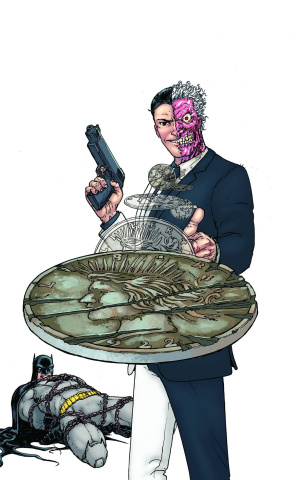 Batman and Robin #23.1: Two Face