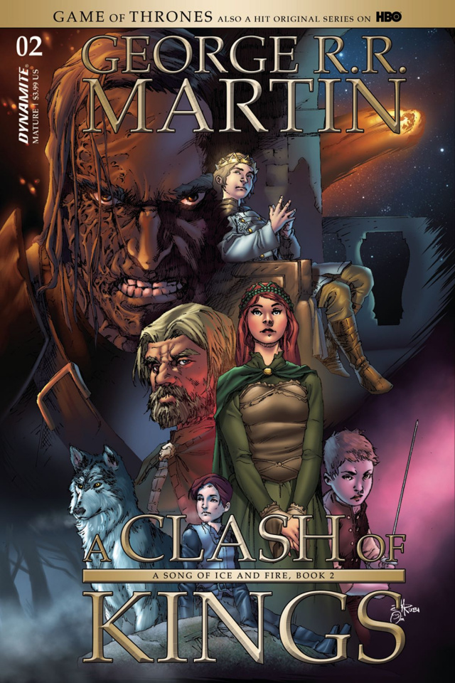 A Game of Thrones: A Clash of Kings #2 (Subscription Cover)