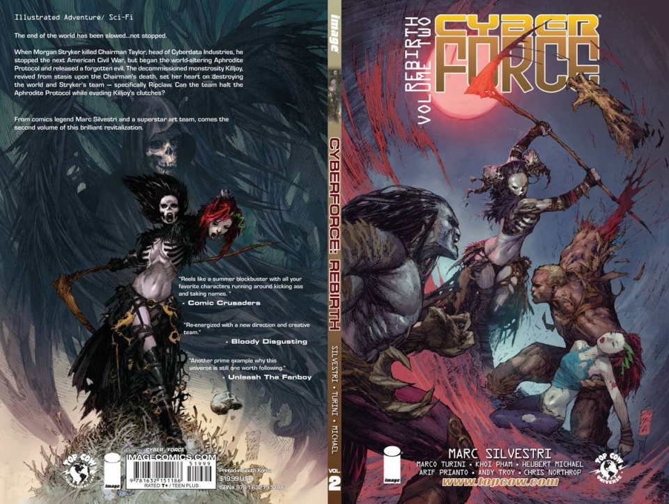 Cyber Force: Rebirth Vol. 2