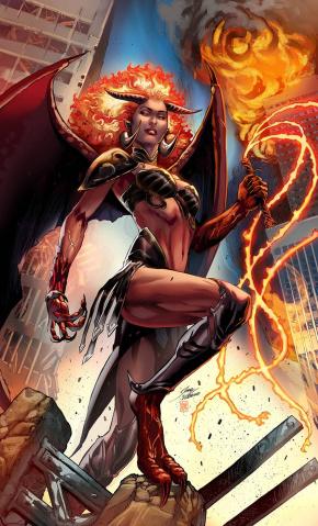Robyn Hood: Hellfire #1 (Vitorino Cover)