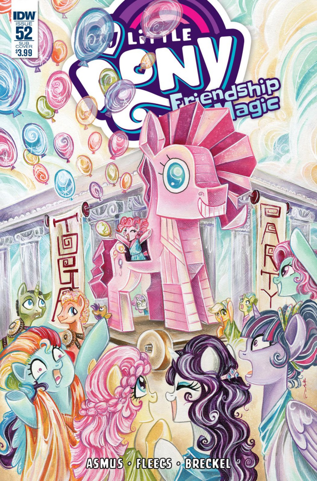 My Little Pony: Friendship Is Magic #51 (Subscription Cover)