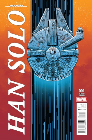 Star Wars: Han Solo #1 (Millennium Falcon Cover)
