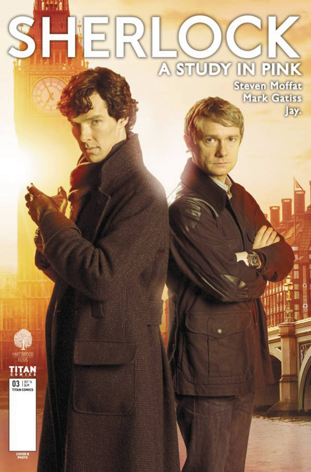 Sherlock: A Study in Pink #1 (Photo Cover)