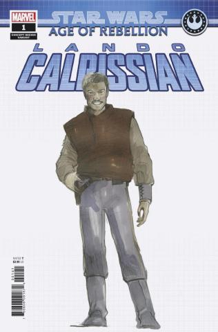 Star Wars: Age of Rebellion - Lando Calrissian #1 (Concept Cover)