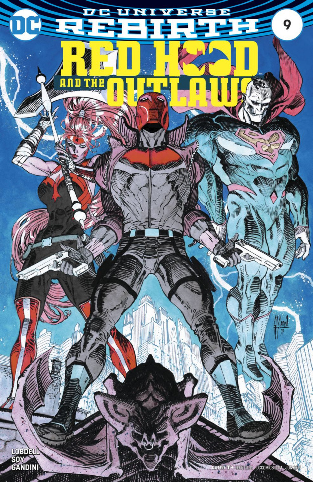 Red Hood and The Outlaws #9 (Variant Cover)