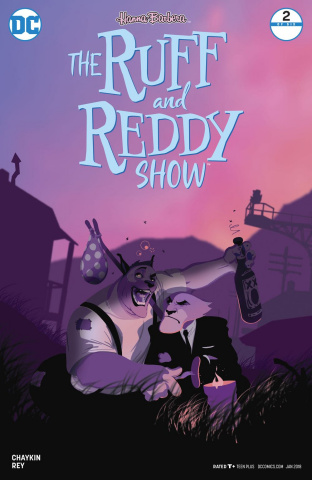 The Ruff and Reddy Show #2 (Variant Cover)