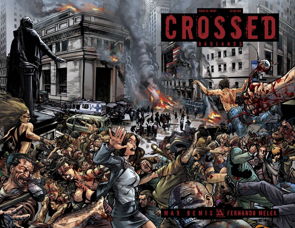 Crossed: Badlands #89 (Wrap Cover)