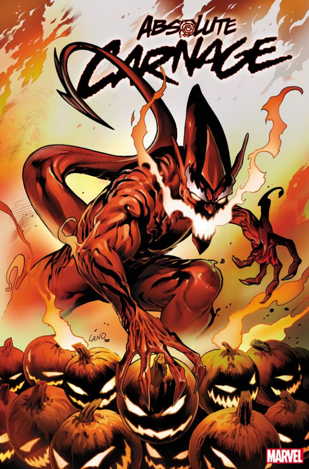 Absolute Carnage #3 (Land Codex Cover)