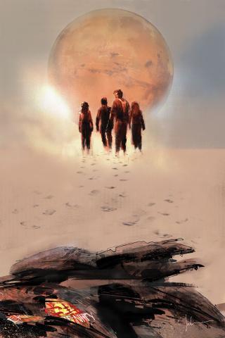 Firefly #1 (Jock Cover)