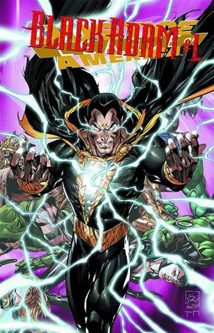 Justice League of America #7.4: Black Adam Standard Edition