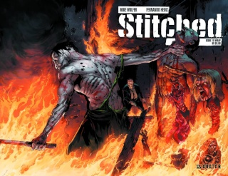 Stitched #18 (Wrap Cover)