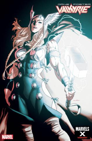 Jane Foster: Valkyrie #7 (Anka Marvels X Cover)