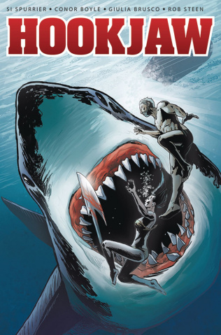 Hookjaw #4 (Williamson Cover)
