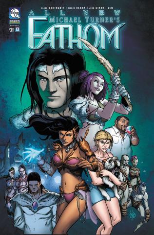 All New Fathom #8 (Renna Cover)