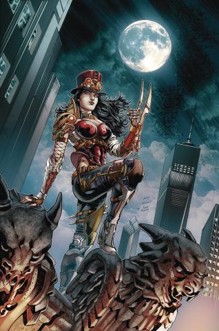 Van Helsing vs. The League of Monsters #5 (Vitorino Cover)