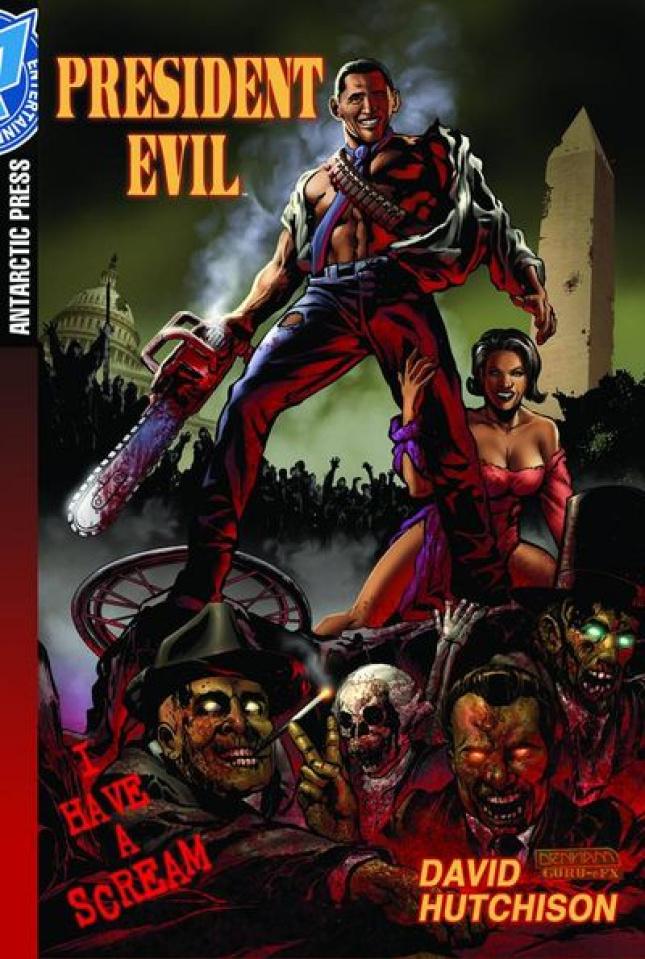 President Evil: I Have a Scream Pocket Manga