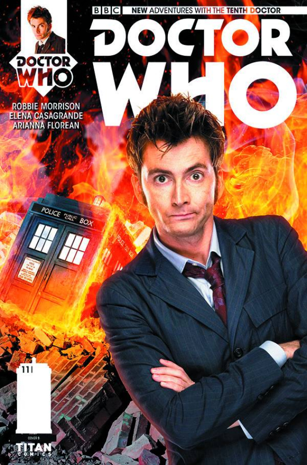 Doctor Who: New Adventures with the Tenth Doctor #11 (Subscription Photo Cover)