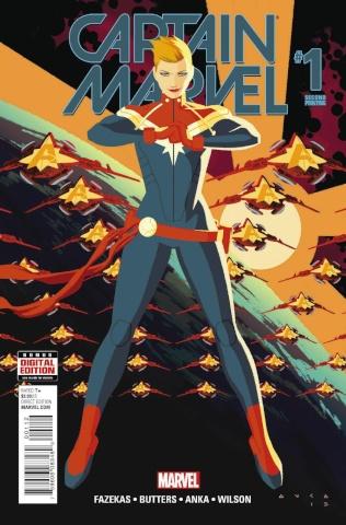 Captain Marvel #1 (Anka 2nd Printing)