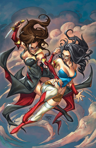 Grimm Fairy Tales: Snow White vs. Snow White #2 (Pantalena Cover)
