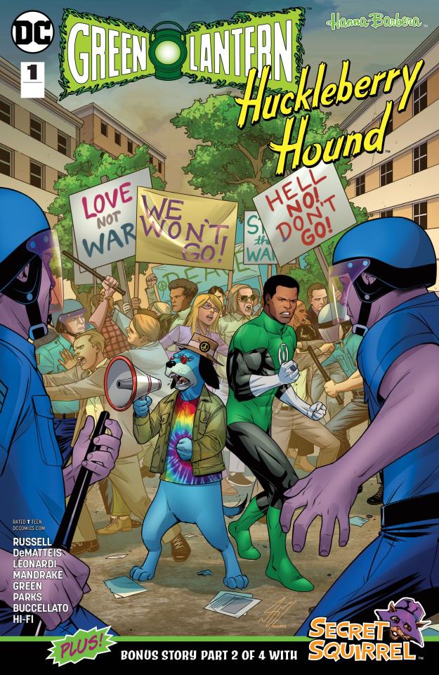 Green Lantern / Huckleberry Hound Special #1