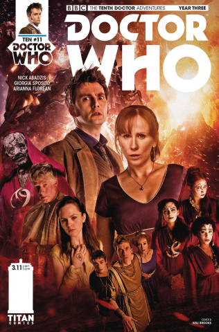 Doctor Who: New Adventures with the Tenth Doctor, Year Three #11 (Photo Cover)