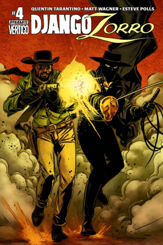 Django / Zorro #4 (Laming Subscription Cover)