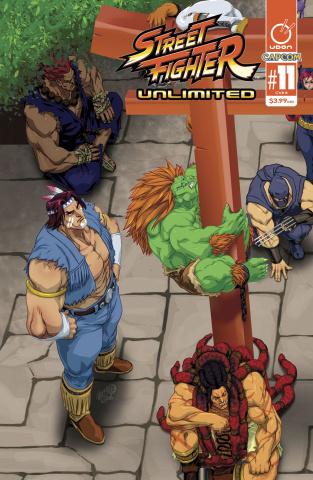 Street Fighter Unlimited #11 (Cruz Ultra Jam Cover)