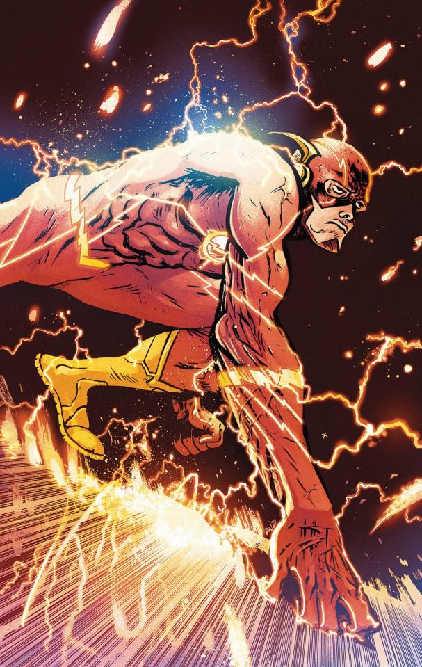 The Flash #756 (Card Stock Daniel W Johnson Cover)
