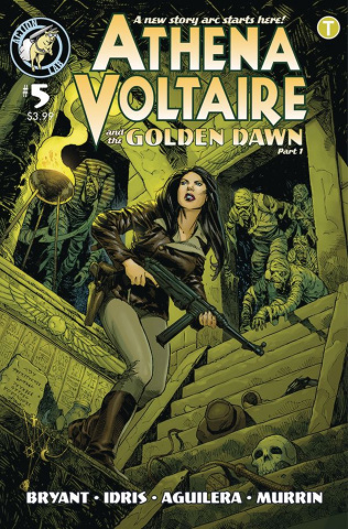 Athena Voltaire #5 (Johnson Cover)