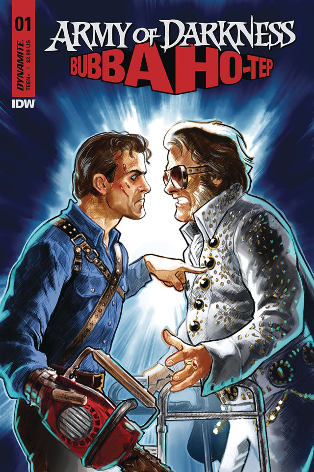 Army of Darkness / Bubba Ho-Tep #1 (Galindo Cover)