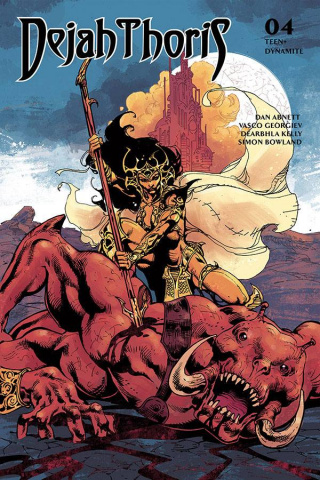 Dejah Thoris #8 (Castro Bonus Cover)