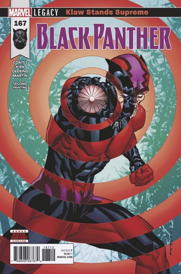 Black Panther #167 (2nd Printing)