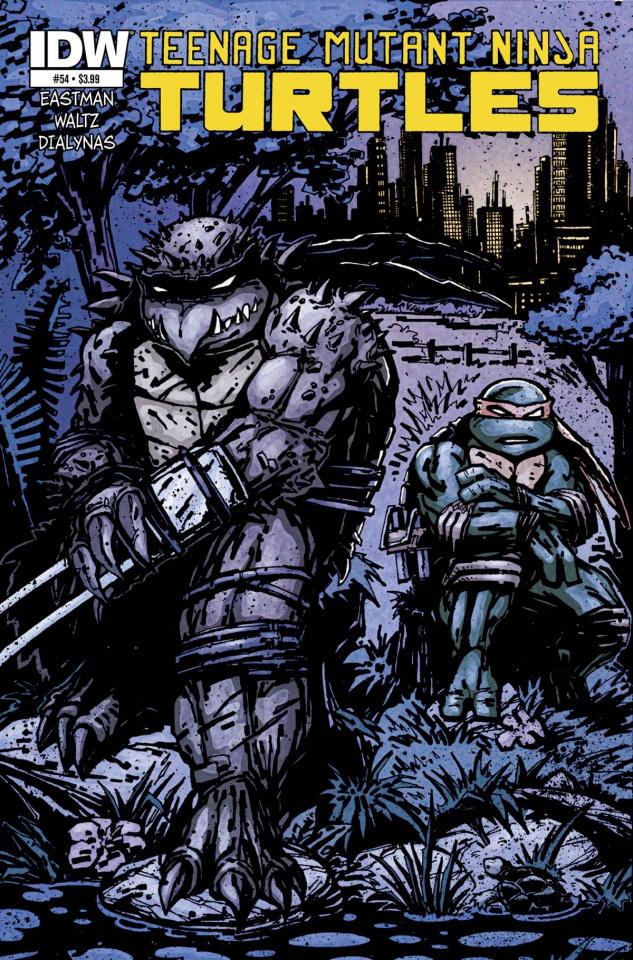 Teenage Mutant Ninja Turtles #54 (Subscription Cover)