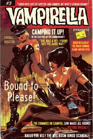 Vampirella #3 (Broxton Subscription Cover)