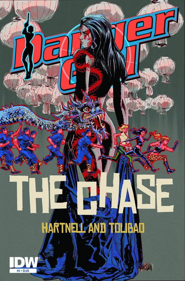 Danger Girl: The Chase #4