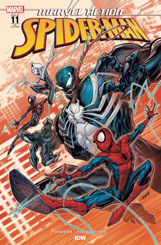 Marvel Action: Spider-Man #11 (10 Copy Meyers Cover)