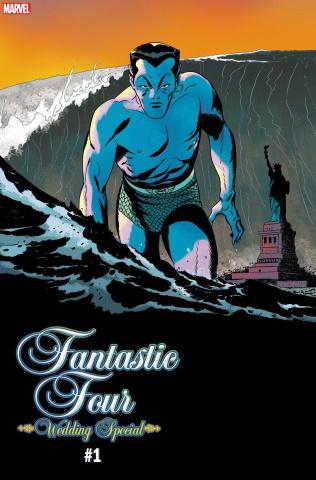 Fantastic Four: Wedding Special #1 (Martin FF Villains Cover)