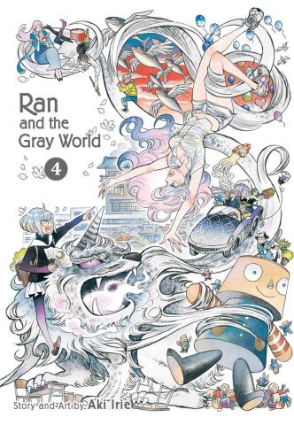 Ran and the Gray World Vol. 4