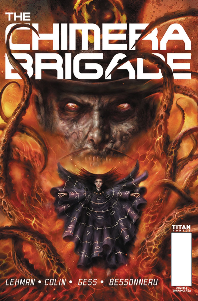 The Chimera Brigade #4 (Percival Cover)