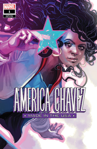 America Chavez: Made in the U.S.A. #1 (Hans Cover)